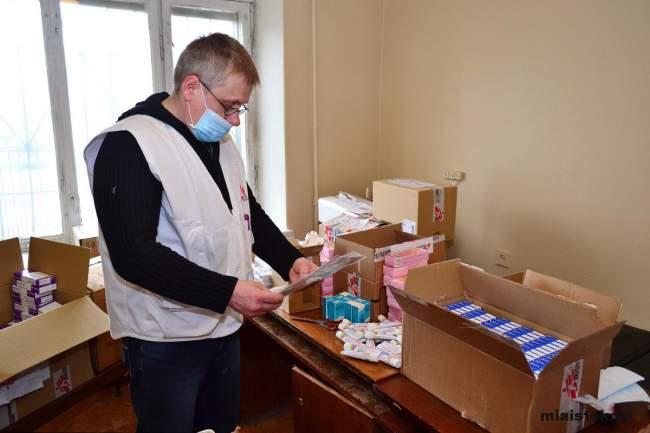 Беженцы получили медицинскую помощь и лекарства