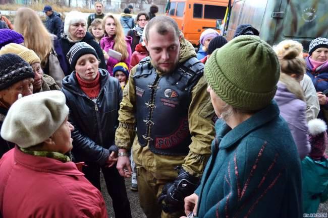 Мы будем оказывать поддержку людям Донбасса до тех пор, пока в ней будут нуждаться!