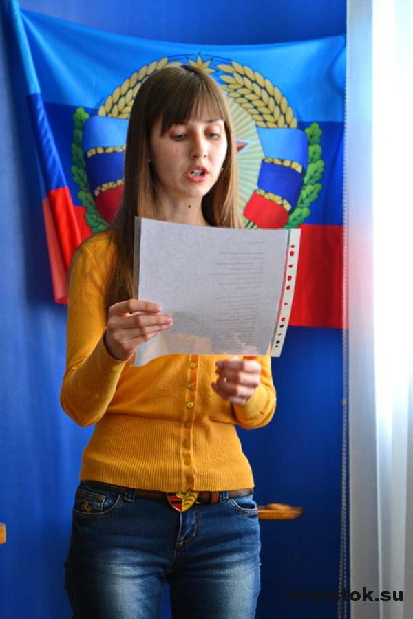 Луганские студенты прочли шевченковский «Заповіт» на 9 языках мира
