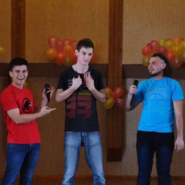 Состязание парней и девушек на «Истфаке»