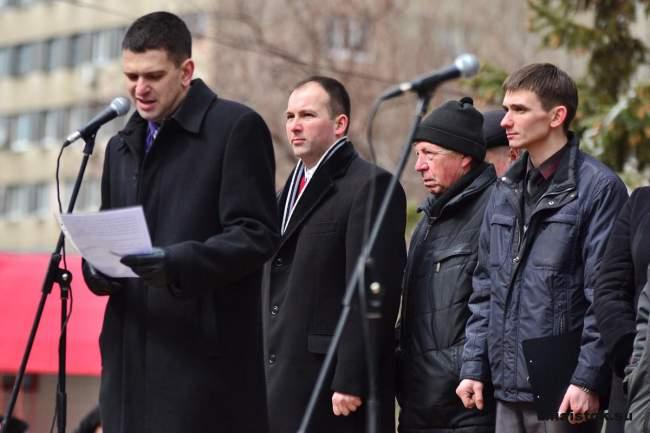 Жители ЛНР заявили: «Нет экономической блокаде»