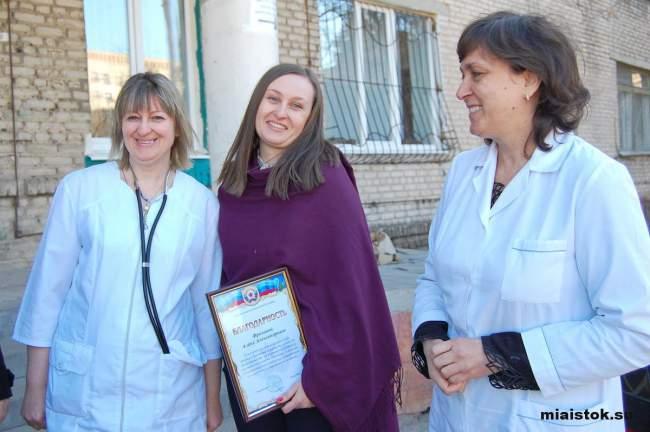 Медики детской больницы получили гуманитарную помощь