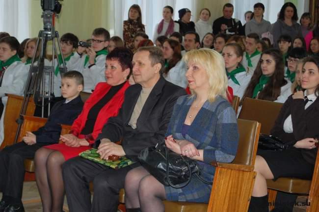 Праздник птиц в Луганской школе
