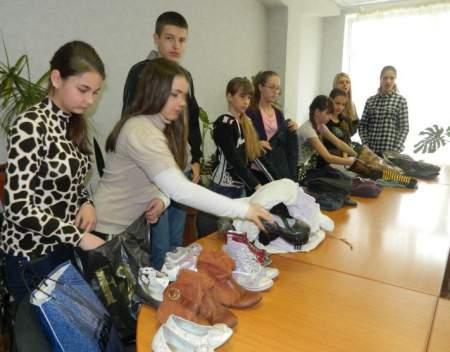 Акция «Помоги землякам, потерявшим свой дом» прошла в Луганске