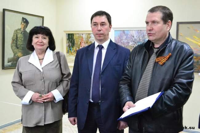 Художники Луганска посвятили Победе свои работы
