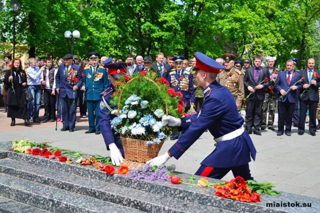 В Луганске почтили погибших во всех войнах