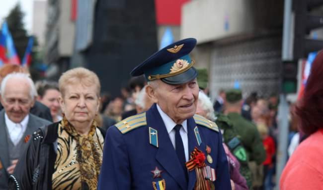 День Победы. 9 мая 2015 года. Парад в Луганске
