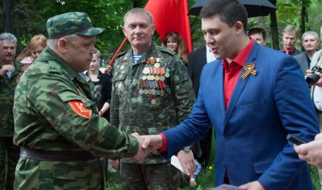 Московский Фонд мира в День Победы вручил награды луганским «афганцам» и казакам