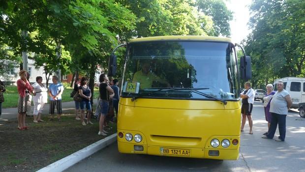 Школьники из Стаханова отправились на летний отдых в Крым