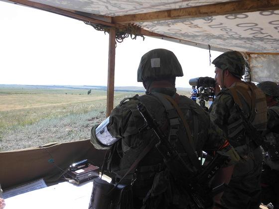 Народная милиция провела тактические занятия сводных подразделений (ФОТО)