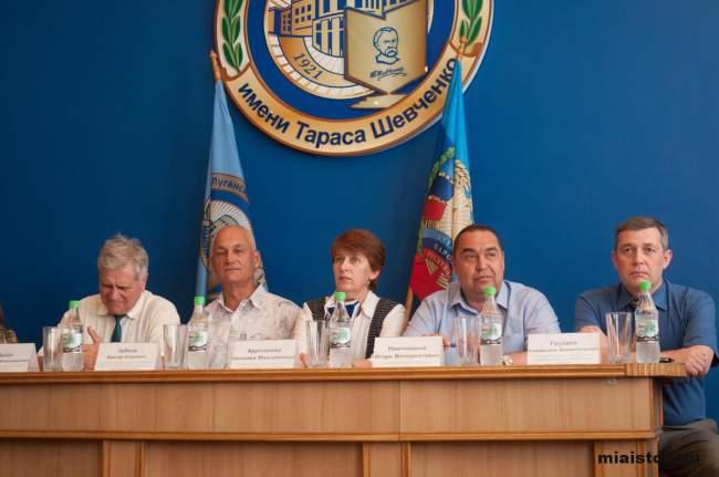 Студенты ЛГУ имени Т. Шевченко получили долгожданные дипломы РФ