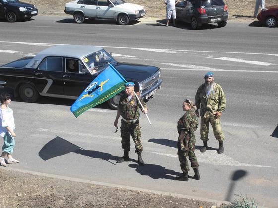 Памятник погибшим защитникам Республики открыли в Луганске в День ВДВ (ФОТО)