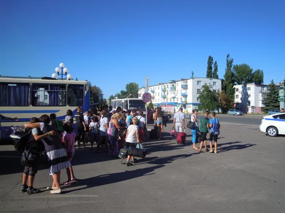 Почти 70 детей вернулись в Первомайск после второй смены отдыха в Крыму