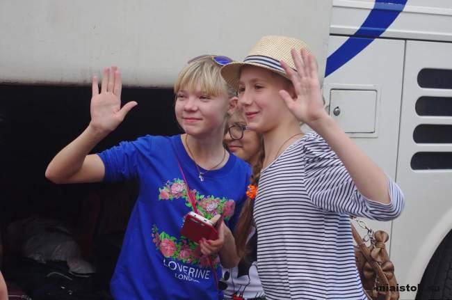 Дети ЛНР поехали отдыхать в Москву