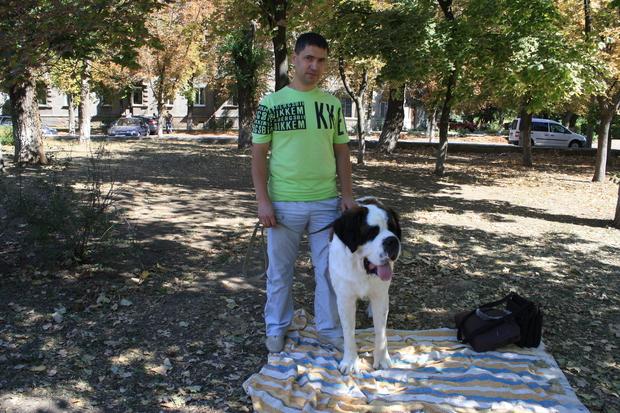 Выставка собак прошла в столичном парке имени 1 Мая в День города (ФОТО)