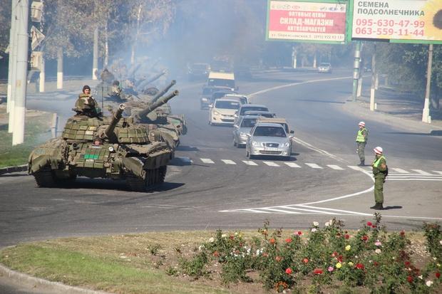 Танкисты Народной милиции надеются, что им не придется возвращаться к линии соприкосновения (ФОТО)