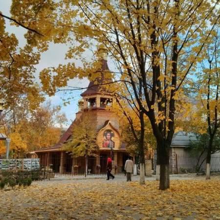 В сквере Памяти состоялся праздник Покрова Пресвятой Богородицы