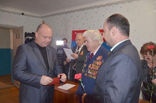 В Ровеньках отпраздновали День сотрудника органов внутренних дел ЛНР