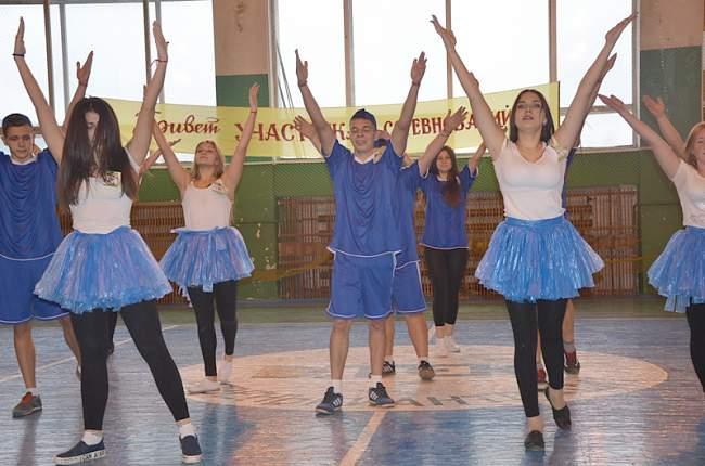 В Ровеньках прошел традиционный молодежный форум (фото)