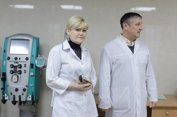 Отделение «острой почки» открылось в Республиканской больнице (ФОТО)