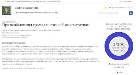 П.Порошенко рассмотрит вопрос о лишении гражданства за сепаратизм 18:10 В Минэнергоугля ожидают в 2015 году сокращение потребления газа на 15,5%
