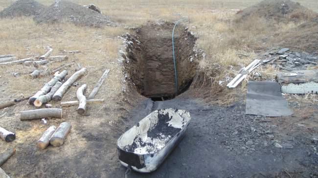 В Перевальске «прикрыли» нелегальную выработку угля