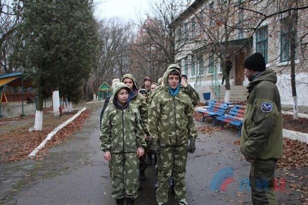 Республиканские военно-патриотические сборы «Щит — 2015» прошли в Антрацитовском районе (ФОТО)