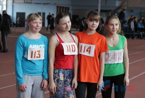 Открытый зимний чемпионат Луганска по легкой атлетике начался в столице Республики (ФОТО)