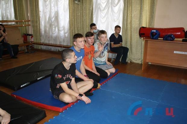 Федерация айкидо ЛНР провела первую выездную тренировку в столичном детдоме №1 (ФОТО)