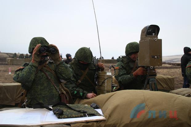 Глава ЛНР посетил плановые учения Народной милиции (ФОТО)