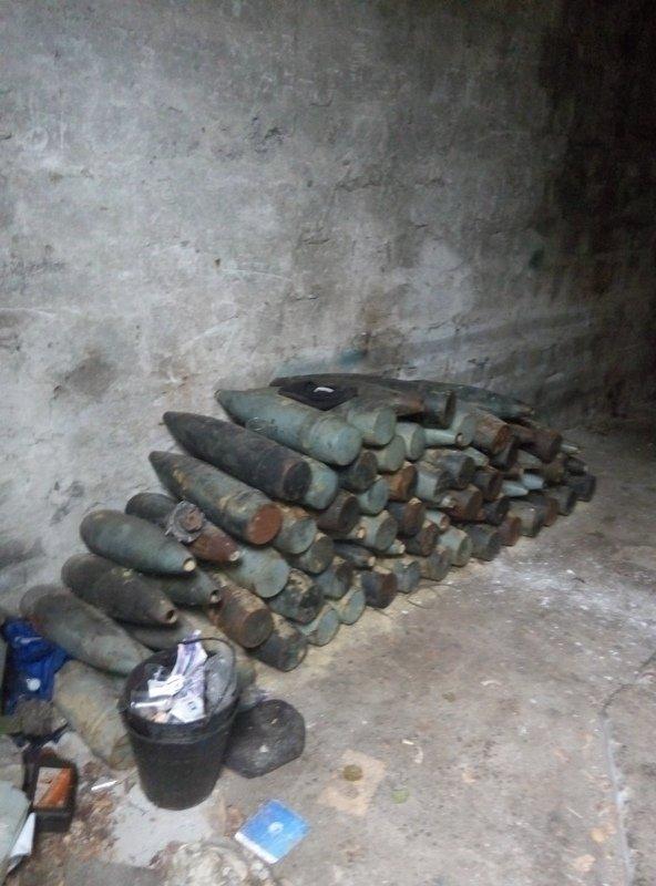 Сотрудниками следственного Управления Генеральной прокуратуры изъято большое количество оружия и боеприпасов