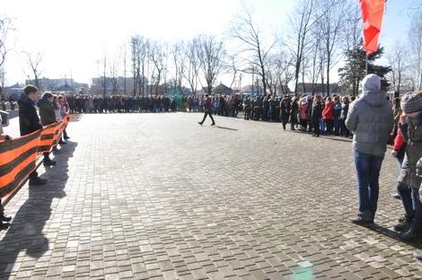Свердловск отметил День освобождения города от немецких оккупантов
