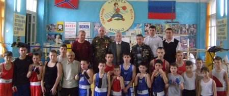 Турнир по боксу памяти Андрея Линева прошел в луганской ДЮСШ № 3