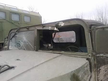 В Луганской области в засаду попала спецгруппа СБУ и ГФС