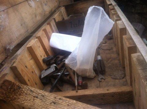 Следователи Генеральной прокуратуры обнаружили и изъяли боеприпасы у сотрудника УИН МВД ЛНР (фото)