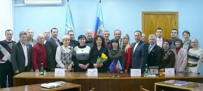 Состоялась международная профсоюзная конференция на тему «Усиление борьбы профсоюзов за права трудящихся Донбасса»