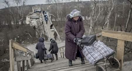 СММ ОБСЕ: мост в Станице Луганской опасен для передвижения