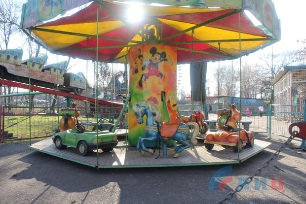Парк имени 1 мая к новому сезону восстановит колесо обозрения – администрация (ФОТО)
