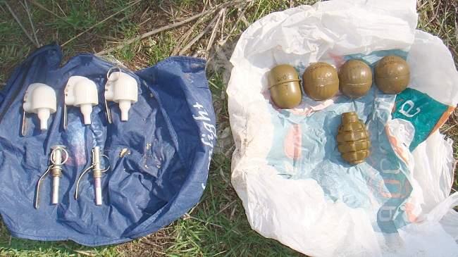 Сотрудниками межрегионального следственного отдела изъяты гранаты и запалы к ним