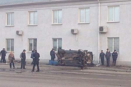 Пьяный водитель иномарки в Харькове совершил дорожно-транспортных происшествий