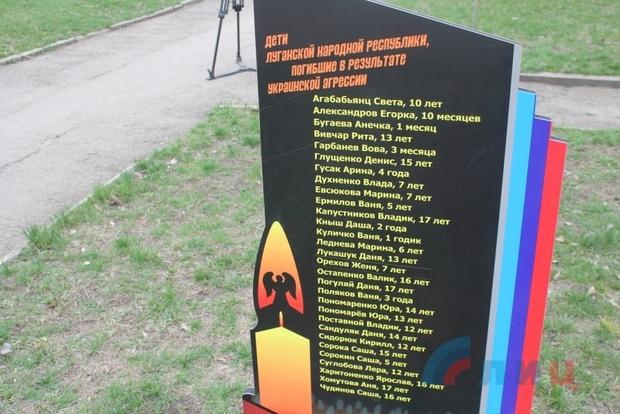 Участники проекта «Дети Республики» высадили аллею в память о погибших детях (ФОТО)