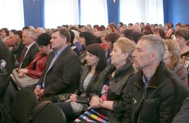 Отчетная конференция территориальной профсоюзной организации ГП «Луганскгаз»