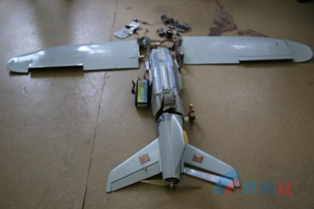 Силы ПВО Народной милиции ЛНР сбили очередной беспилотник ВСУ (ФОТО)