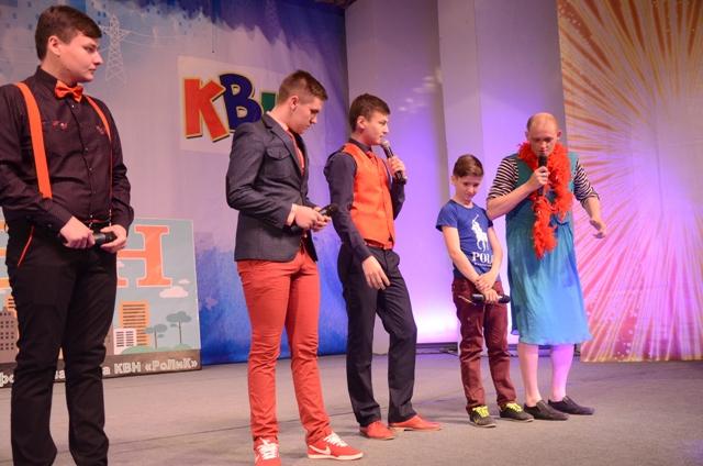 В Ровеньках прошла игра 1/8 финала Ровеньковской открытой профсоюзной лиги КВН