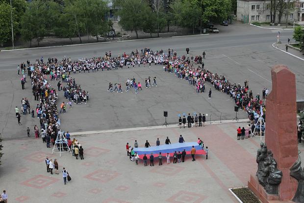 Заключительный этап акции «Голубь Мира» состоялся в Антраците (ФОТО)