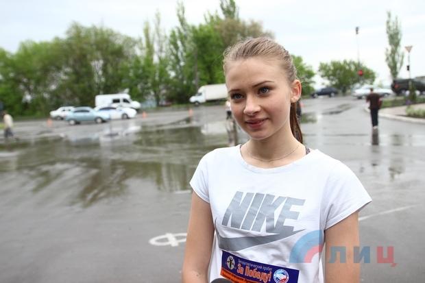 Легкоатлеты ЛНР провели в поселке Юбилейный традиционный пробег «За Победу» (ФОТО)