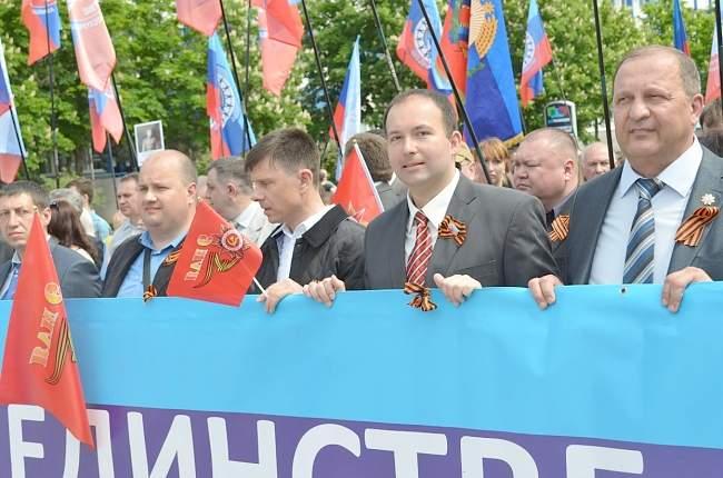 Федерация Профсоюзов ЛНР приняла самое активное участие  в праздновании 71-й годовщины Великой Победы