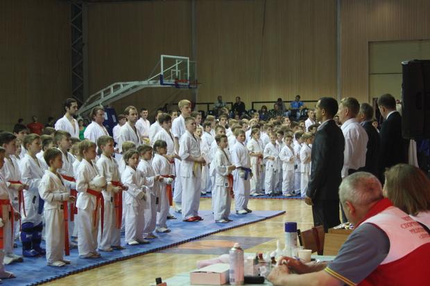 Каратисты Красного Луча завоевали 27 медалей и первое место на турнире в ДНР (ФОТО)