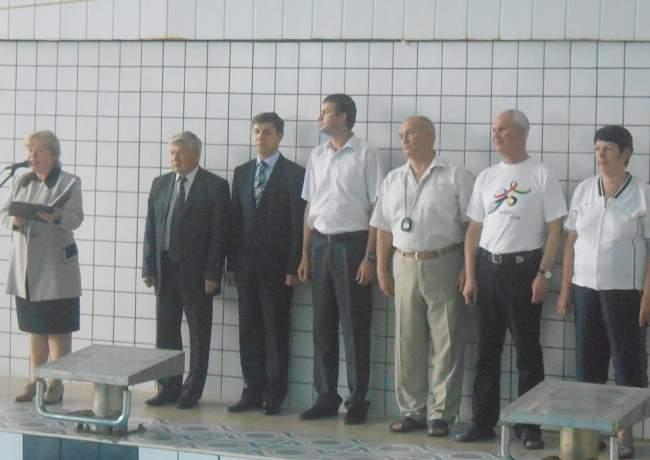 Стартовало Открытое первенство Луганского высшего училища физической культуры по плаванию