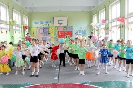 Более 250 дошкольников приняли участие в городской спартакиаде